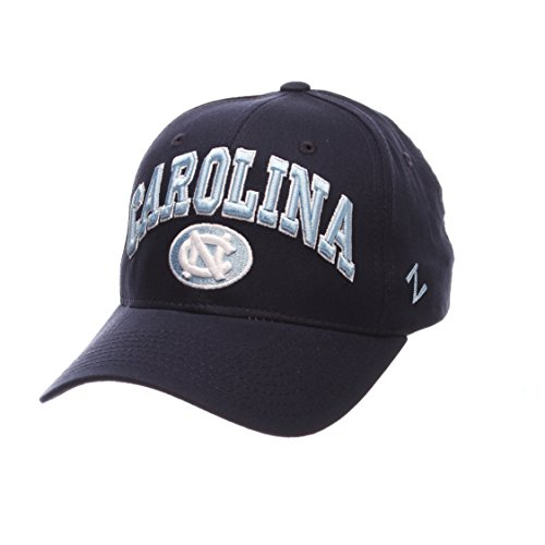 Zephyr Cotton Cap - ZHATS NCAA North Carolina Tar Heels Men's The Sport Headwear, Adjustable, Navy