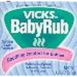 Vicks Vaporub Baby Rub 50 g (3 Pack)