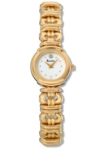 Bulova Ladies Bracelet and Diamonds Watch 97S22