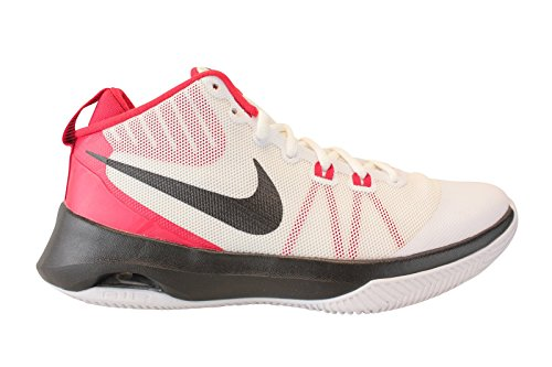 24737c21aa6 Galleon - NIKE Men s Air Versitile Basketball Shoes-White Blk University Red -11