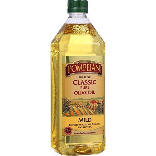 Mild Olive Oil (Pompeian Classic Pure Olive Oil Mild Flavor (24oz))