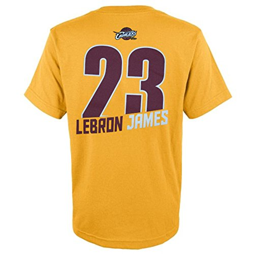 Majestic Youth LeBron James Cleveland Cavaliers T, Larg