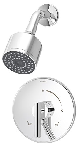 - Symmons S-3501-CYL-B Dia Shower System, Chrome