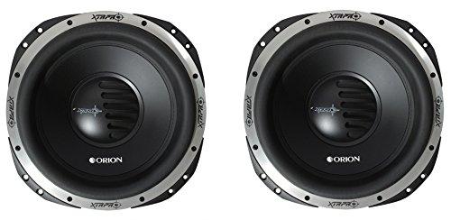 (2) Orion XTRPRO152D 15 Inch XTR Pro Series 2 Ohm Max Power 7200 Watt Subwoofers