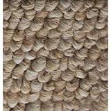 Firewood 4' Half Round Sand Drift Rug