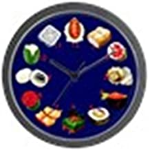 "CafePress - Sushi Wall Clock With Numbers - Unique Decorative 10"" Wall Clock"