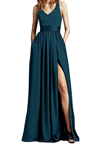 the Linie Leader Damen A Kleid of Beauty Blaugrün qF5ZX