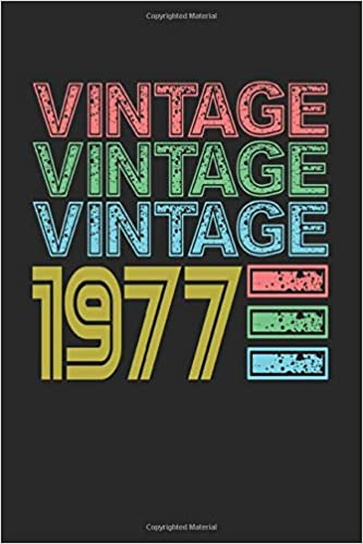 Vintage 1977: 2021 Planner for 44th Birthday (44 Bday Gifts ...