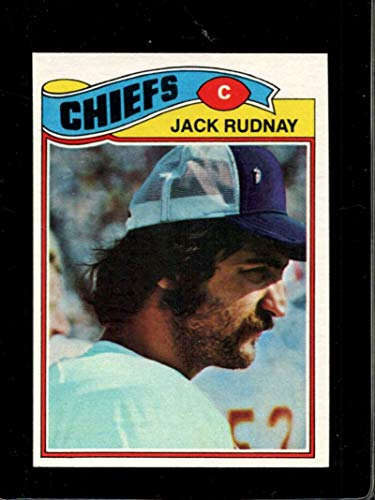1977 TOPPS #487 JACK RUDNAY NMMT CHIEFS