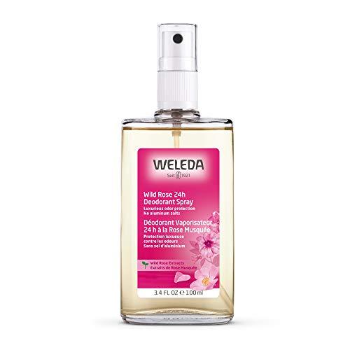 Weleda Wild Rose 24h Deodorant Spray, 3.4 Ounce