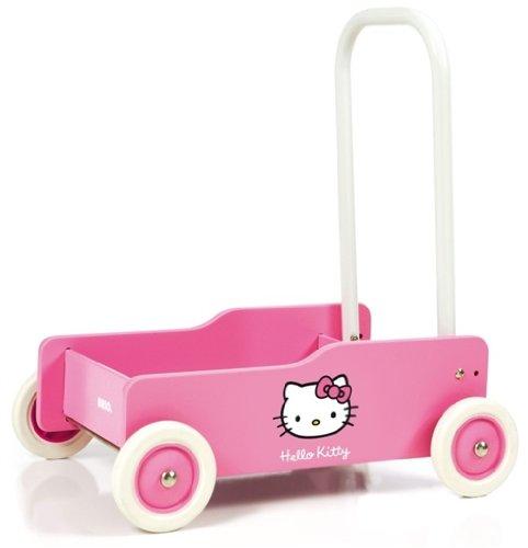 Lauflernwagen Holz Mädchen - Brio Hello Kitty Lauflernwagen