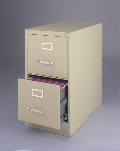 Bush Business Furniture 80FV2PY 2-Drawer Vertical Metal File by Bush Business Furniture