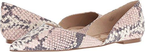 Sam Edelman Women's Rodney Ballet Flat, Pink Snake Leather, 6 M US
