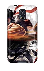 For Galaxy S5 Premium Tpu Case Cover Street Fighter Protective Case
