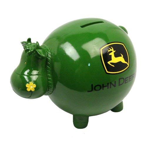 John Deere Cow Bank