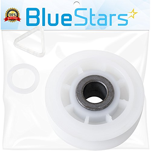 Ultra Durable 279640 Dryer Idler Pulley Replacement part by Blue Stars - Exact Fit for Whirlpool & Kenmore dryer - Replaces 3388672, 697692, AP3094197, (Dryer Idler Pulley Assembly)