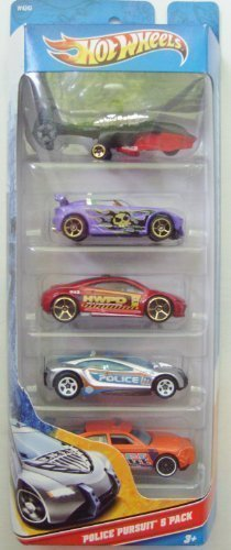 Hot Wheels Police Pursuit 5 Pack