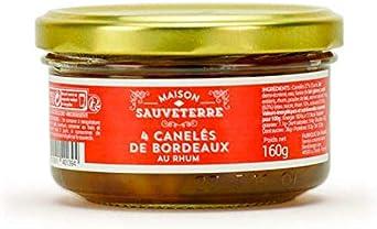 Canelés de Bordeaux con ron: Amazon.es: Alimentación y bebidas