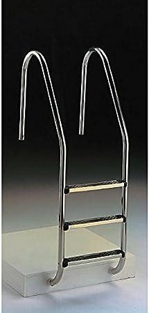 Escalera estandard asimetrica 3 peldaños aquarama 9819