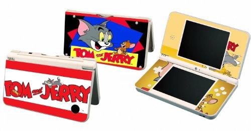 Tom & Jerry Vinyl Skin Sticker Decal Cover for Nintendo DSi XL