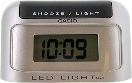 Casio Dq582d-8 Auto Calendar Digital Travel Alarm Clock