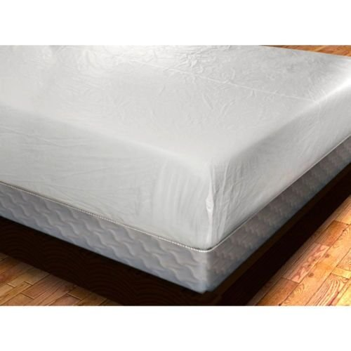 YAL MATCOV-QUEEN Deluxe Zippered Vinyl Bed Bug Proof Mattress Cover - Queen Size (Queen Mattress Bed Bug Cover)