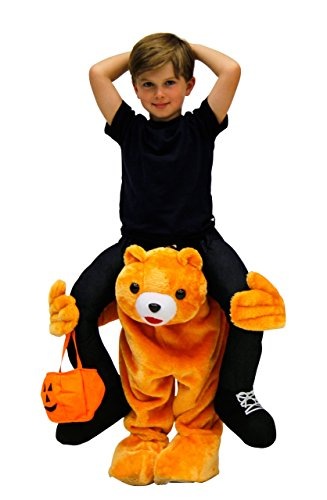 Costume Agent Men's Piggyback BEAR Ride-On Costume, Bear, Youth (Unique Costume)