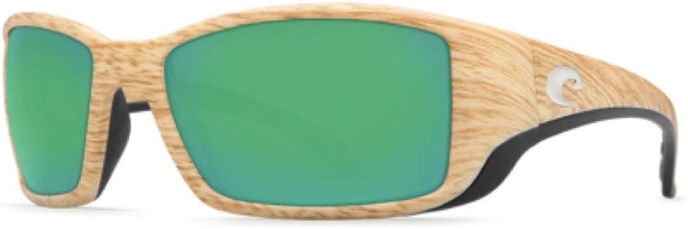Costa del Mar Blackfin Polarized Sunglasses Ashwood//Green Mirror 580P Fishing