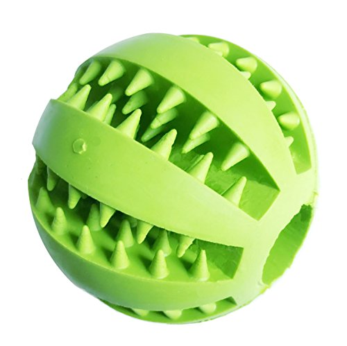 Dog Treat Ball,Tooth Cleaning, Interactive and Food Feeder for - Bond Ltd Co