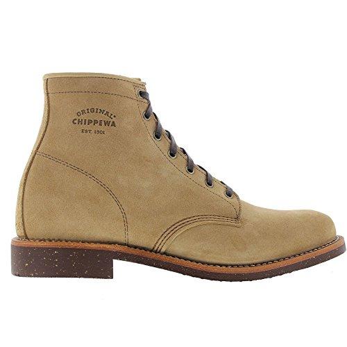 Chippewa Mens 1901G27 Khaki Suede Boots 10.5 UK