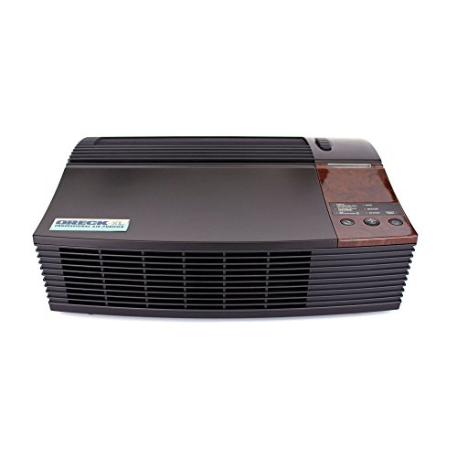 Oreck AIRPCB Professional Permanent Filter Air Purifier with Optional Ionizer And Quiet Operation, Black