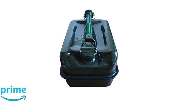 IMDIFA 97103/ Bid/ón de Fondo Plano en Metal con Capacidad para 10 L y Grifo vertedor.