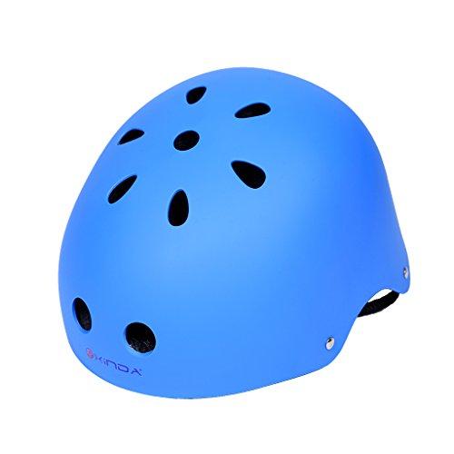 Jili Online Vent Climbing Helmet Hard Hat Outdoor Arborist Rock Climbing Protective Gear - Blue, 52-58cm by Jili Online