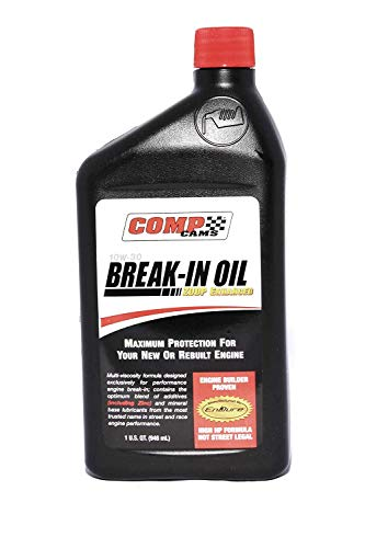 Comp Cams 1590 10W30 Break-in Engine Oil - 1 Quart Bottle (10) (Oil Comp Break Cam In)