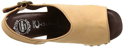 Jeffrey Campbell Snick Leather - Zuecos para mujer Nude