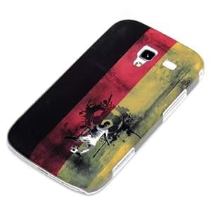 deinPhone Carcasa para Samsung Galaxy Ace 2 i8160, diseño de la bandera alemana retro