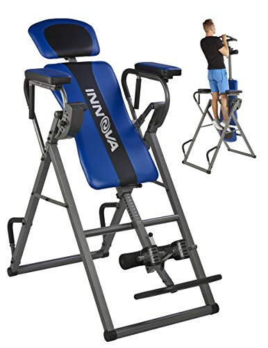 (Innova Health and Fitness ITP1000 12-in-1 Inversion Table with Power Tower Workout Station)