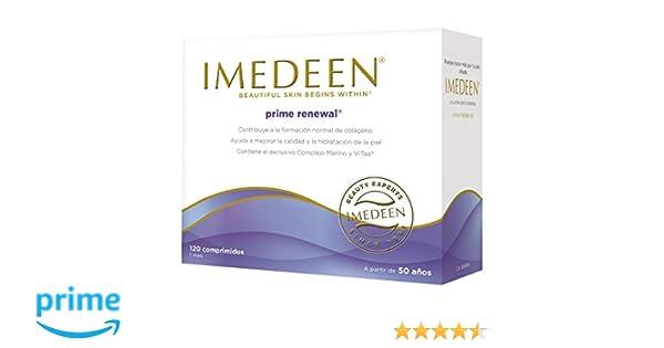 Imedeen Prime Renewal, Complemento Alimenticio Antiedad - 120 comprimidos: Amazon.es: Salud y cuidado personal
