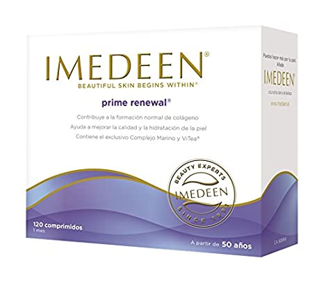 Imedeen Prime Renewal, Complemento Alimenticio - 120 comprimidos: Amazon.es: Salud y cuidado personal