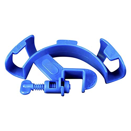 SunGrow Aquarium Hose Holder - Tank Maintenance Tool Encourages Frequent Water Change - Non Slip Pipe Mount Tube - Makes Fish Tank Cleaning Easy - Adjustable Bracket fits Most Pipes - Attaches vice