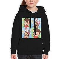 Guiping Albertsstuff + Flamingo Teen Hooded Sweate Sweatshirt L Black