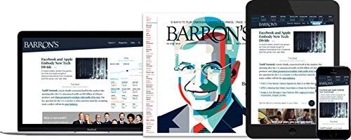 Barron's 1 Year Subscription Print + Digital Barrons
