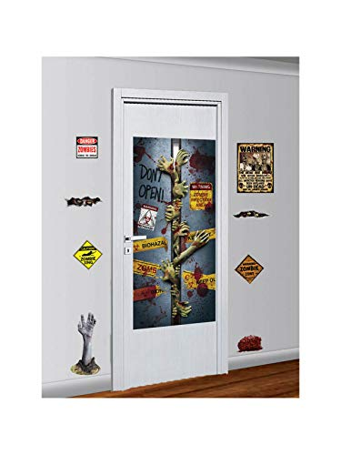 Forum Novelties Zombie Décor Kit, Halloween Party Accessory Prop/room Decoration]()
