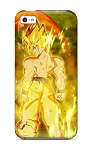 Top Quality Protection Super Saiyan Goku Case Cover For Iphone 5c