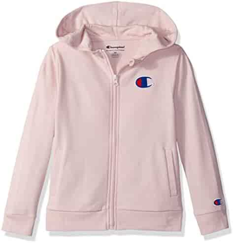 45f79084f42e Champion Little Heritage Girls French Terry Logo Hoodie