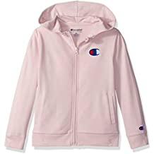 Champion Little Heritage Girls French Terry Logo Hoodie