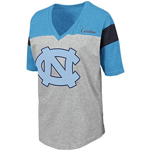 Unc Womens Basketball - Colosseum Womens UNC North Carolina Tar Heels Genoa Short Sleeve Tee Shirt - S