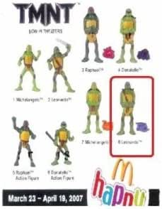 Mcdonalds Teenage Mutant Ninja Turtles Leonardo Toy 2007 Amazon