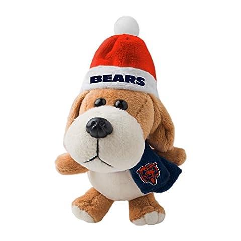 NFL Chicago Bears Plush Dog Ornament - Chicago Bears Christmas Ornament