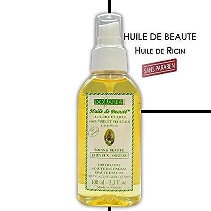 Dollania - Aceite de belleza con aceite de ricino 100% puro y vegetal para uñ